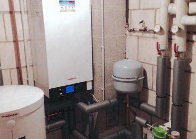 Vitodens 200 inkl. Warmwasserspeicher