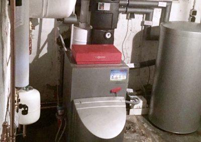 Vitorondens 200 inkl Warmwasserspeicher