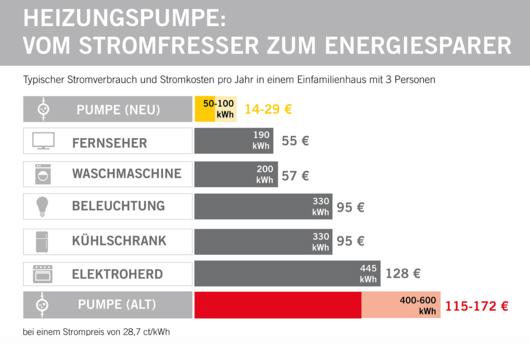 30% Förderung für Pumpentausch oder hydraulischen Abgleich