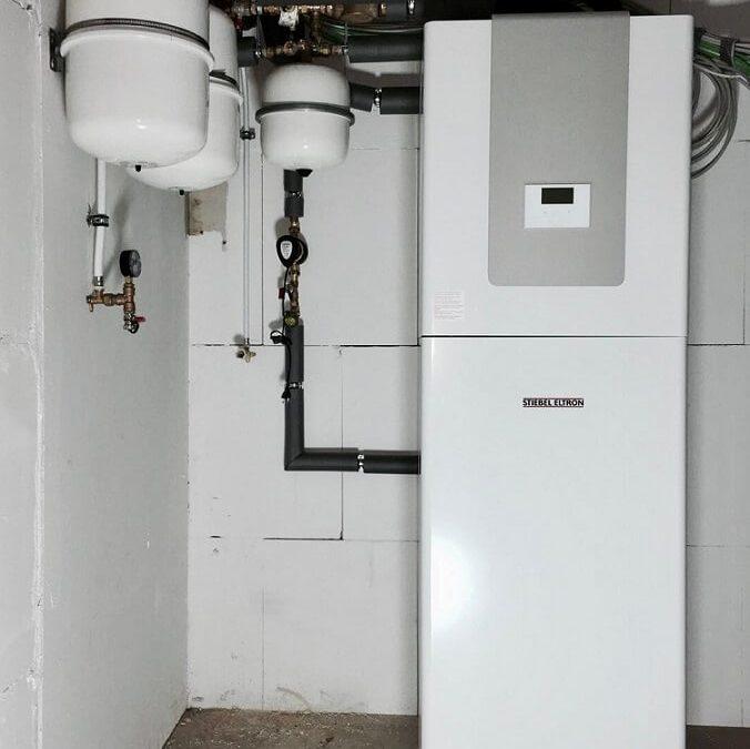 Stiebel Eltron Sole-Wasser-Wärmepumpe für ein EFH