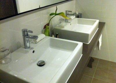 Aufsatz Waschtischanlage