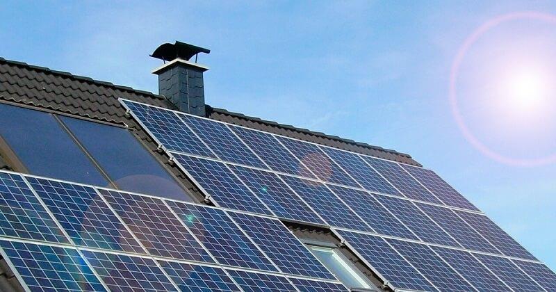 Kostenlose Sonnenenergie