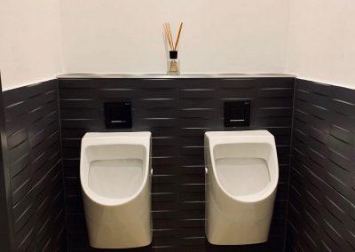 Umbau Urinal