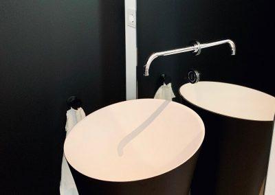 Waschtischanlage standmontage