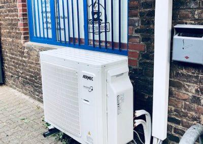 Klimaanlage außen